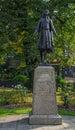 Princess Pochontas Statue Royalty Free Stock Photo