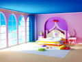 Princess room Stock Images