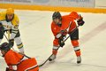 Princeton #15 in NCAA Hockey Game Stock Photography