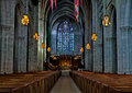 Princeton university chapel interior the of the on the campus of in new jersey Royalty Free Stock Photos