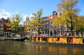 Prinsengracht canal. Amsterdam, Netherlands Royalty Free Stock Photo