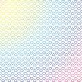 Hearts colourful geometric background