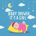 Cute baby or toddler boy illustration