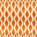 Print Vector Abstract Leaves Pattern Large and small