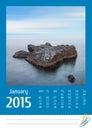 Print2015 photo calendar. December.