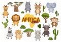 vector Set Africa