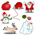 Printchristmas icon Royalty Free Stock Photos