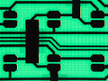 Printed circuit board Royalty Free Stock Photo