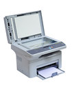 Printer and scanner isolated Royalty Free Stock Photo