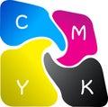 Printing colour logo