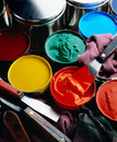 Printing inks Royalty Free Stock Image