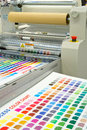 Printing machine Royalty Free Stock Photo