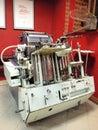 Printing press at izba drukarstwa lublin poland old ai Royalty Free Stock Photos