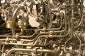 Priorità bassa industriale del metallo Immagine Stock