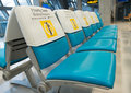 Priority seat for monk Royalty Free Stock Photo