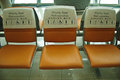 Priority Seating in airport Royalty Free Stock Photo