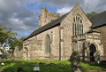 Priory church of st mary usk the monmouthshire Stock Images
