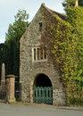 Priory Gate, Usk Stock Image