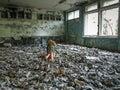 Pripyat in the Chernobyl Exclusion Zone, Ukraine, 2016 Royalty Free Stock Photo