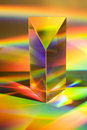 Prism With Rainbows Stock Images