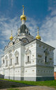 Prison church of st elizabeth in dmitrov s kremlin town moscow region russia Royalty Free Stock Images
