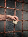 Prison corruption Royalty Free Stock Image