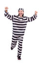 Prison inmate Royalty Free Stock Photo