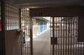 Prison Lockdown Unit Royalty Free Stock Photo