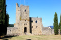 Prison tower of Romena Castle, Tuscany, Italy Royalty Free Stock Photo