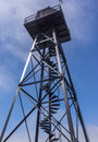 Prison Watch Tower Royalty Free Stock Photo