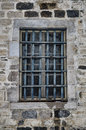 Prison window this is an original of an old abandoned you can t escape Stock Photography