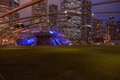 Pritzker Pavilion Stock Photo