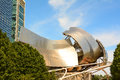 Pritzker pavilion bandshell chicago illinois august the site is home to the the grant park symphony orchestra and chorus Stock Photography
