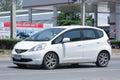 Private car, Honda Jazz. Royalty Free Stock Photo