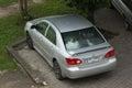 Private car Toyota Corolla Altis.