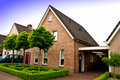 Private house in Holland Royalty Free Stock Photo