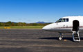 Private jet awaits you Royalty Free Stock Photo