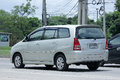 Private mpv car toyota innova chiangmai thailand september photo at road no about km from downtown chiangmai thailand Stock Photos