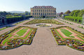 Privy garden crown prince of schonbrunn palace in vienna Royalty Free Stock Image
