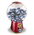Prize contest gumball machine award winner balls in a or candy to illustrate winning a jackpot or special reward or Royalty Free Stock Photography