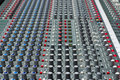 Pro audio mixing board Stock Image