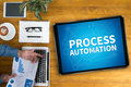 stock image of  PROCESS AUTOMATION