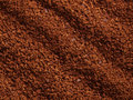 Processed coffee granules Royalty Free Stock Photography