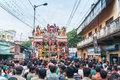 Procession of Hindu God Ram , Sita and Hanuman