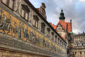 Procession of Princes, Dresden Royalty Free Stock Images