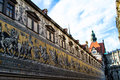 Procession of princes in dresden germany Royalty Free Stock Images