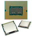 Processor chip Royalty Free Stock Photo