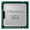 Processor. Computer Hardware Royalty Free Stock Photo