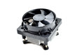 Processor heatsink cooler fan on white background Stock Images
