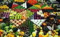 Produce display Royalty Free Stock Photo